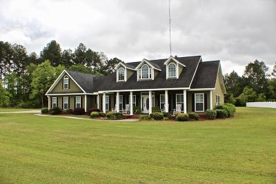 Blackshear Single Family Home For Sale: 2706 Sand Pebble Drive