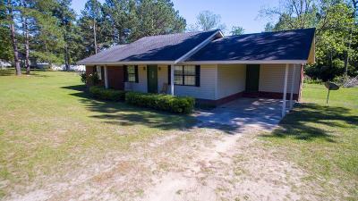 Blackshear Single Family Home For Sale: 2907 Crepe Myrtle Dr