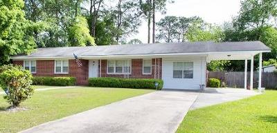 Waycross Single Family Home For Sale: 504 Spurgeon