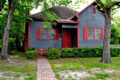 Waycross Single Family Home For Sale: 625 Walker St.