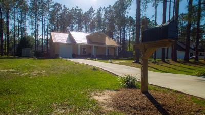Blackshear Single Family Home For Sale: 6658 Pine Ridge Cir