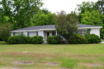 Waycross Single Family Home For Sale: 212 Frontier Dr.