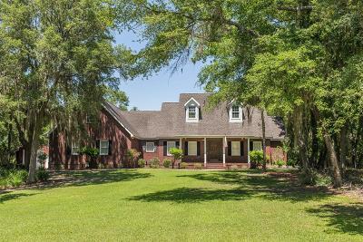 Blackshear Single Family Home For Sale: 6469 Riverwoods Dr