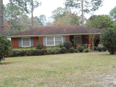 Waycross GA Single Family Home For Sale: $79,000