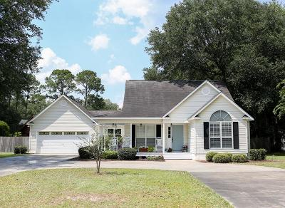Waycross Single Family Home For Sale: 9709 Central Ave