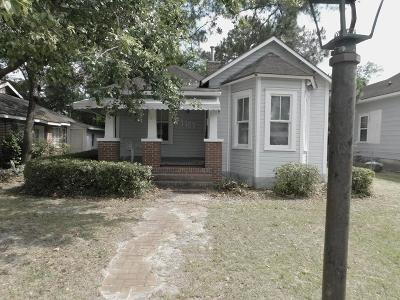 Waycross Single Family Home For Sale: 1107 Elizabeth St.