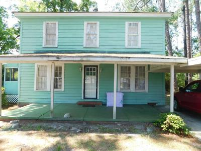 Waycross Single Family Home For Sale: 1013 Elizabeth St.