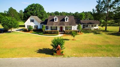 Blackshear Single Family Home For Sale: 4004 Redstone Cir