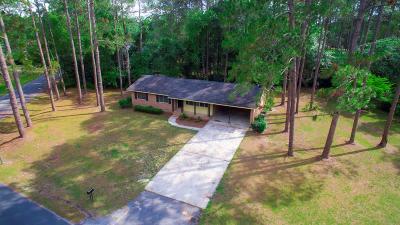 Blackshear Single Family Home For Sale: 144 Edgewood Dr