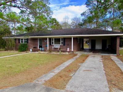 Blackshear Single Family Home For Sale: 732 Bud Street