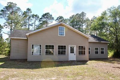 Waycross Single Family Home For Sale: 3139 5th St