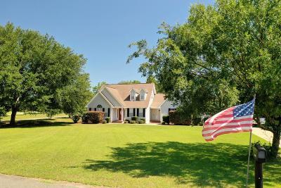 Blackshear Single Family Home For Sale: 3890 Golfview Dr