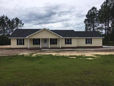 Blackshear Single Family Home For Sale: 3107 Duward St