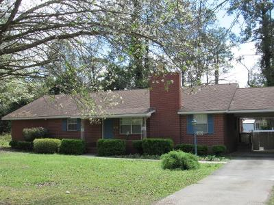 Waycross Single Family Home For Sale: 1200 Central Avene