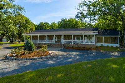 Waycross Single Family Home For Sale: 5883 Alma Highway