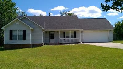 Waycross Single Family Home For Sale: 3428 Wren Dr