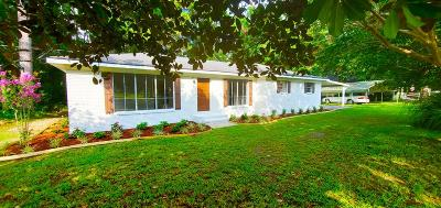 Waycross Single Family Home For Sale: 4336 Albany Ave