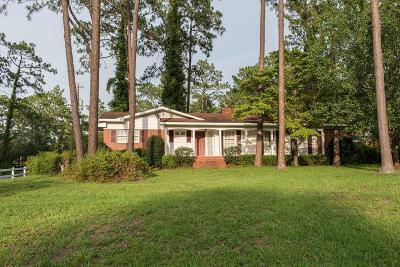 Waycross Single Family Home For Sale: 1708 Marshall Dr