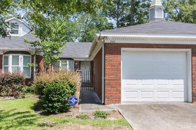 Waycross Single Family Home For Sale: 840 St Marys Dr