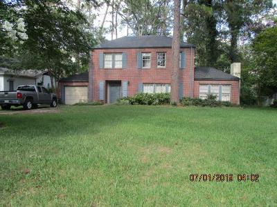 Waycross Single Family Home For Sale: 1510 Satilla Blvd