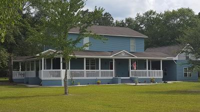 Waycross Single Family Home For Sale: 5018 Whitehall Church Rd