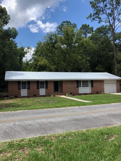 Homerville Single Family Home For Sale: 91 Peagler Street