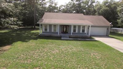 Waycross Single Family Home For Sale: 2461 Lejuene Rd