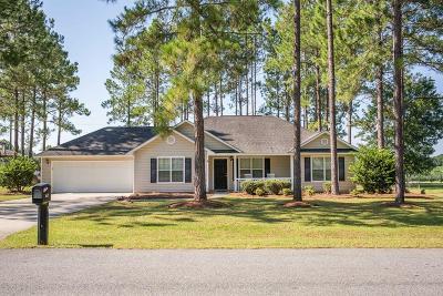 Blackshear Single Family Home For Sale: 6637 Pine Ridge Cir