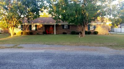 Waycross GA Single Family Home For Sale: $174,500