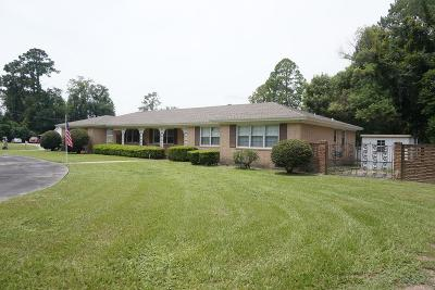 Waycross Single Family Home For Sale: 701 City Blvd