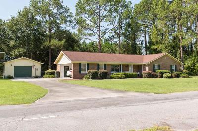 Waycross Single Family Home For Sale: 2298 Darden Road