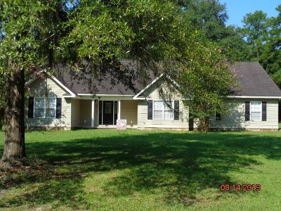 Jesup Single Family Home For Sale: 679 Altamaha Rd
