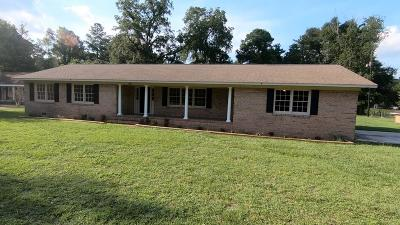 Waycross Single Family Home For Sale: 1921 Central Ave