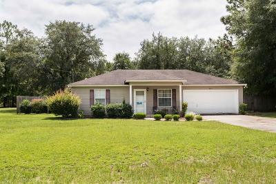 Blackshear Single Family Home For Sale: 6810 Oakwood Ln