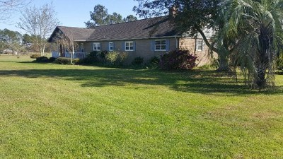 Pavo Single Family Home For Sale: 3828 Woodhaven Rd