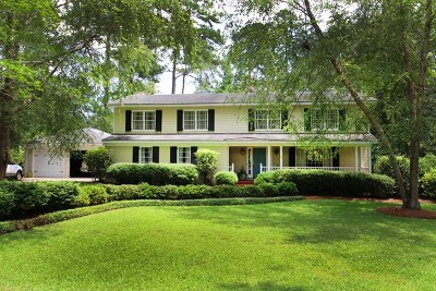 Thomasville Single Family Home For Sale: 1207 Evergreen Drive