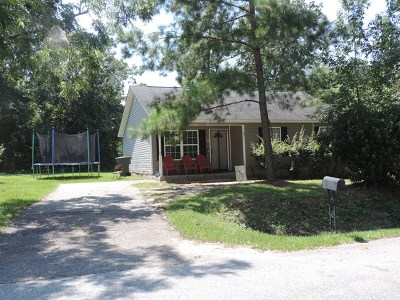 Thomasville GA Single Family Home For Sale: $78,000