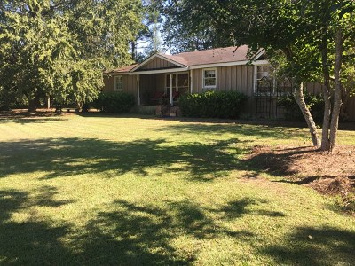 Pelham Single Family Home For Sale: 4462 Ridge Road (55.5 Acres)