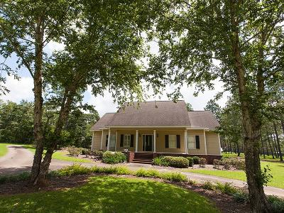 Pavo Single Family Home For Sale: 9626 Hodges Rd