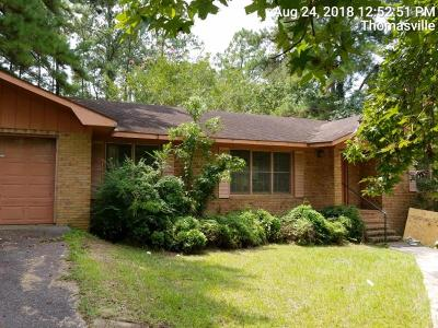 Thomasville GA Single Family Home Sold: $110,000