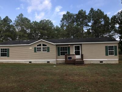 Pavo Single Family Home For Sale: 971 W Hwy 122
