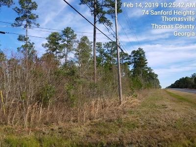 Thomasville GA Residential Lots & Land For Sale: $223,722