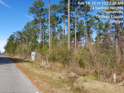 Thomasville GA Residential Lots & Land For Sale: $434,342