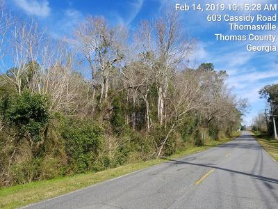 Thomasville GA Residential Lots & Land For Sale: $129,900