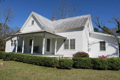 Pavo Single Family Home For Sale: 8988 Ga Hwy 33