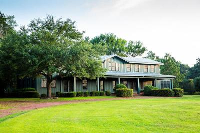 Thomasville Single Family Home For Sale: 285 +/- Acres, Ga Highway 3