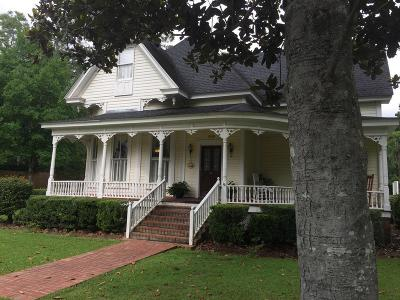 Pavo Single Family Home For Sale: 2110 S Sycamore