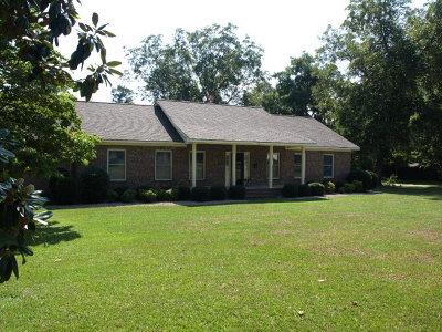 Lake Blackshear, Cordele, Warwick, Arabi, Ashburn, Rebecca, Sycamore Single Family Home For Sale: 710 Monnie