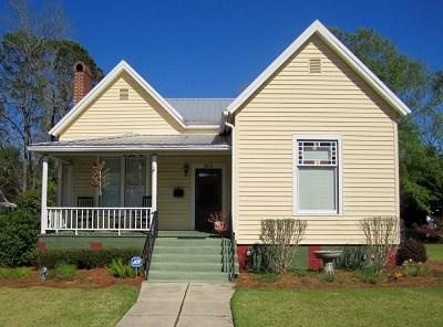 Ocilla, Irwinville, Chula, Wray , Abbeville, Fitzgerald, Mystic, Ashburn, Sycamore, Rebecca Single Family Home For Sale: 510 South Lee Street