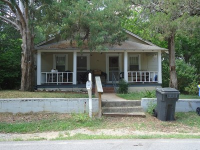 Brookfield, Chula, Tifton, Irwinville, Omega, Poulan, Sycamore, Sumner, Ty Ty, Ashburn, Rebecca Single Family Home For Sale: 412 Belmont Ave